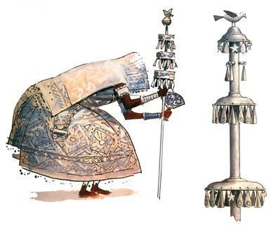 Ou Òrìsà Olúfón, é o maior de todos os Òrìsàs, o Òrìsànlà. Òrìsà da paz e da criação, desloca-se apoiado no seu Òpàsórò, o cajado sagrado que tem no topo um pássaro.