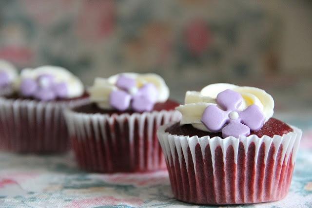 Red Velvet Cupcakes. Receta / Recipe