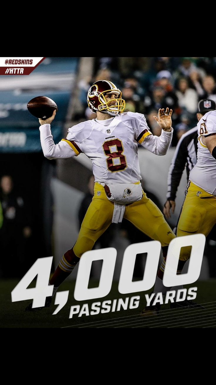 Washington Redskins QB Kirk Cousins breaks records in 2015 win against Dallas Cowboys! #HTTR #YouLikeThat #Redskins