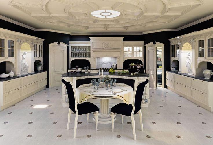 Cucine in legno Sale da pranzo - Cucina di Lusso by Turati Boiseries