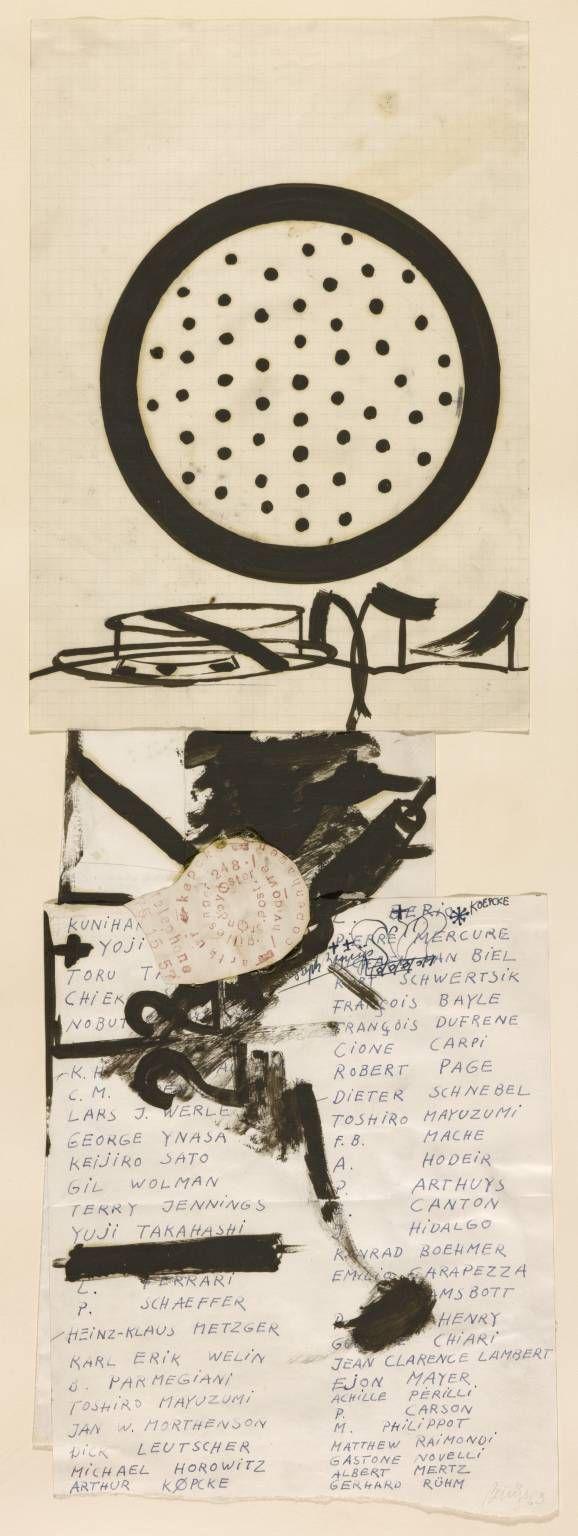 'Fluxus-Name List', Joseph Beuys   Tate