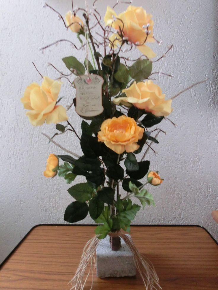 Bloemen voor de torenhoeve