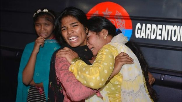 Pakistani women mourn the death of relatives after the Lahore blast. It is believed that the bomb detonated on Sunday evening in local time, when many Christian families were visiting the Gulshan-e-Iqbal park area to celebrate Easter. The bomb detonated as families were leaving the park and the majority of victims are believed to be women and children. The lives of these people mean just as much as the lives of those in Belgium. There's not much one can say anymore. Please just keep these…