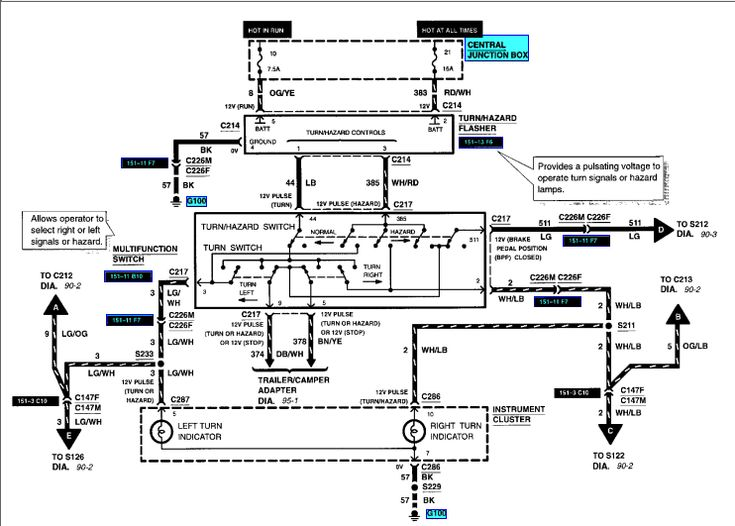 Ford Fuel Pump Relay Wiring Diagram