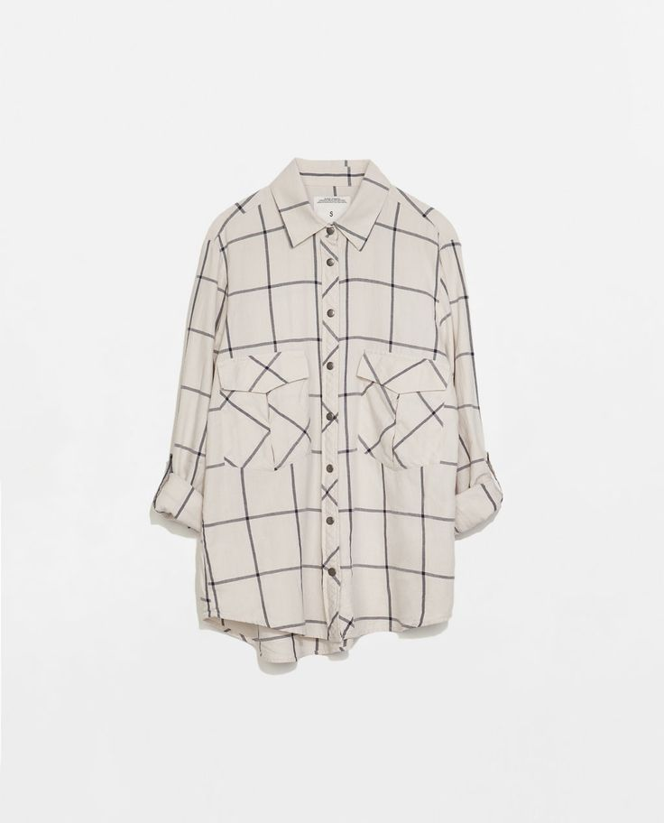 ZARA - WOMAN - チェックシャツ