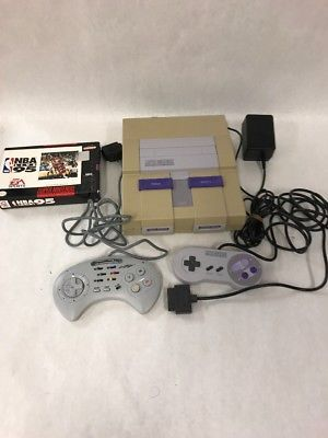 Super Nintendo SNES Console Complete System Bundle Vintage NBA Live 95 2 control: $129.99 End Date: Thursday Apr-5-2018 23:20:45 PDT Buy It…