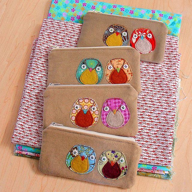 Owl pouches.