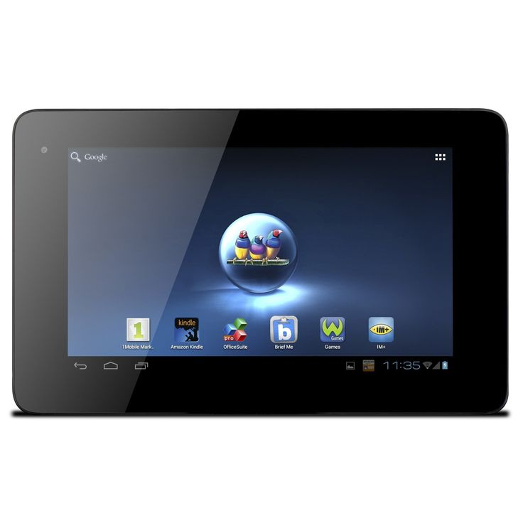 ViewSonic ViewPad E72 7-Inch Tablet (Black). Android 4.0 Ice Cream Sandwich, 7 inches Display. All winner ARM dual-core CORTEX A9 OMAP 4 1 GHz. 1 GB RAM Memory. 802_11_BGN wireless.