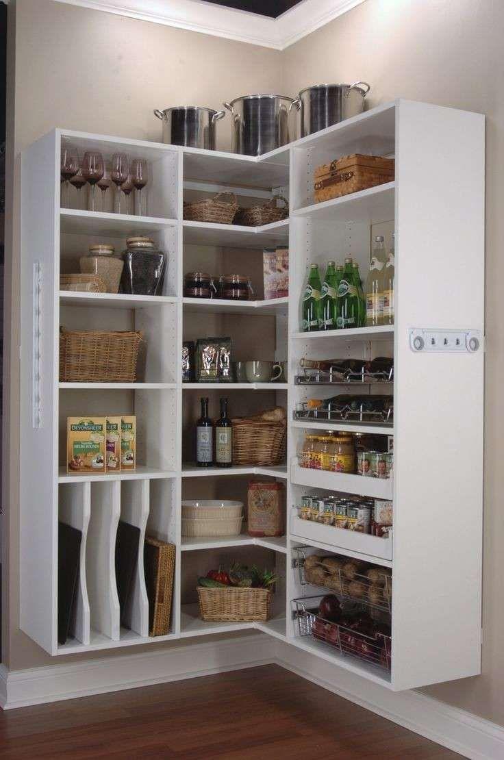 Idee Dispensa Cucina.Idee Per Organizzare La Dispensa Della Cucina Foto 35 40