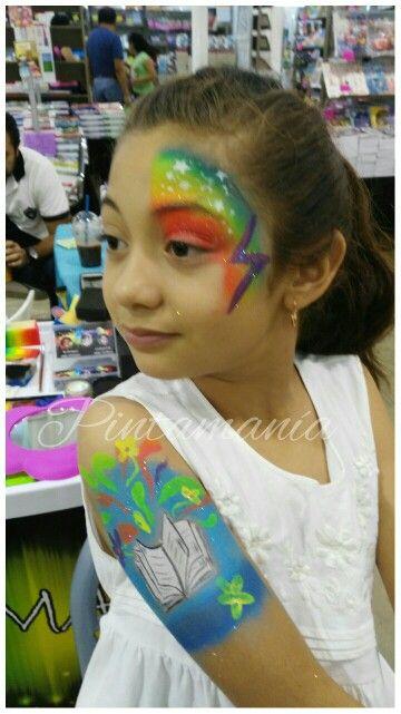 Face paint, body paint libro