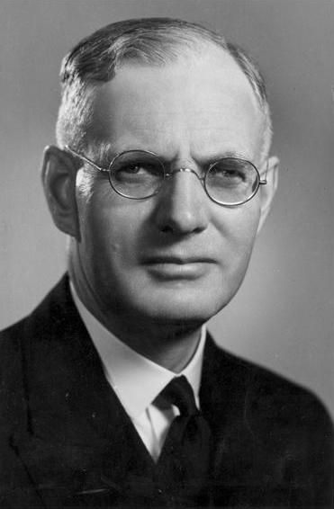 John Curtin...Appointed by the Governor-General on condition that Independent MPs Coles and Wilson would support him, thereby ending government instability. Re-elected 1943. Led Australia through World War II. Pacific War begins: Fall of Singapore, Kokoda Campaign, Sends H. V. Evatt to represent Australia in discussions for formation of United Nations. †Died in office (heart attack).