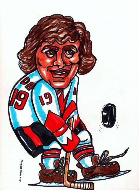 HENDERSON wins for CANADA against RUSSIA  When HENDERSON got the PUCK Hockey  Suzanne-Berton.com