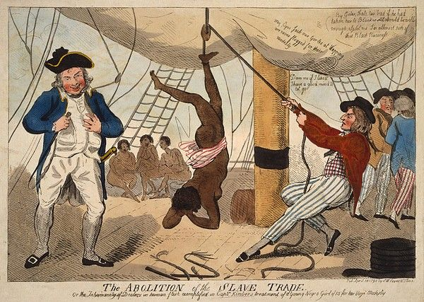 British Cartoon Of A True Event by Everett | African american history, Black history, History