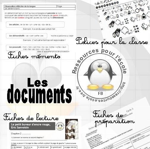 . - Documents pour la classe
