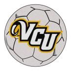 Ncaa Virginia Commonwealth University Cream (Ivory) 2 ft. 3 in. x 2 ft. 3 in. Round Accent Rug
