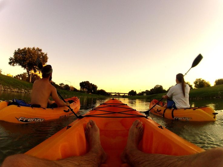 See Fort Worth from a different perspective! Backwoods Paddlesports at Panther Island Rentals offers kayak, stand up paddleboard, and canoe rentals by the hour on the Trinity River. Private and group tours are also available.