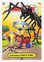 John Pound Illustration Garbage Pail Kids