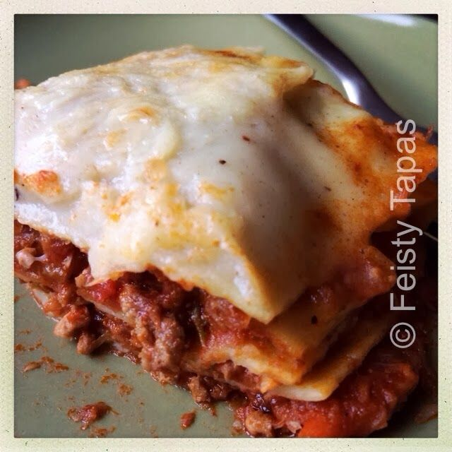 FEISTY TAPAS: Thermomix bolognese (perfect for spaghetti bolognese or lasagna)