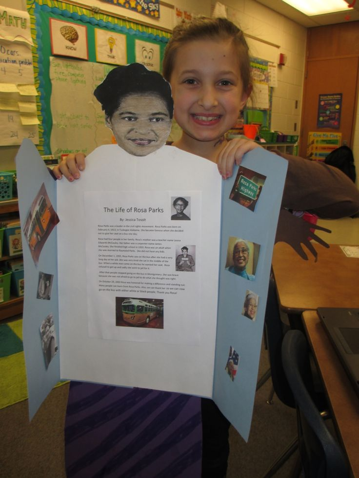 Black History Month and Presidents' Day Biography Reports ...