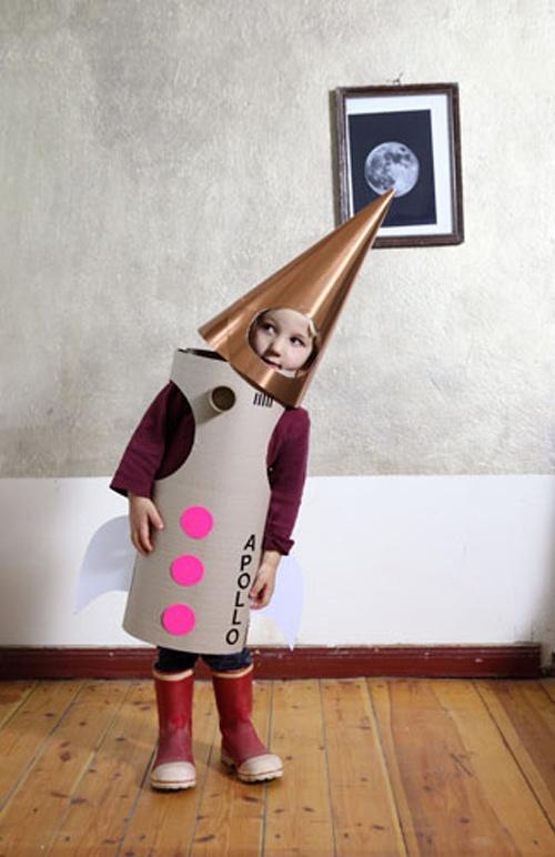 Apollo Rakete - selbstgemachte Kostüme und Verkleidungen für Kinder I Fasching & Halloween