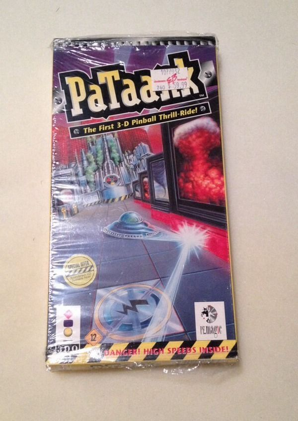PaTaank  (3DO, 1995) In Long Box - Factory Shrink Wrap Still On Box But Opened #3DO #videogames #panasonic