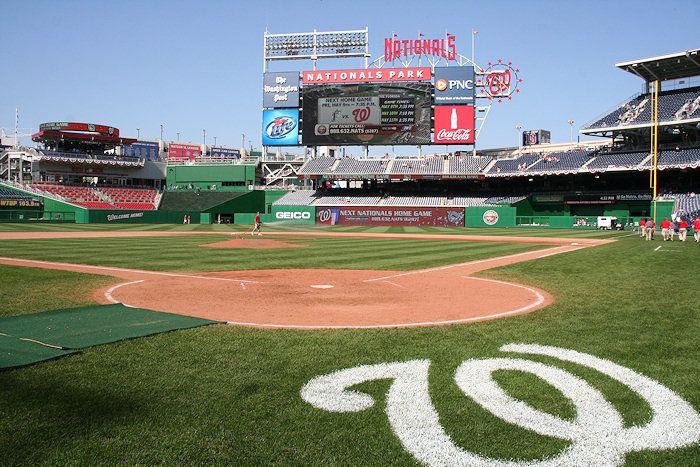 Nationals Park - New DC Baseball Stadium for the Washington Nationals