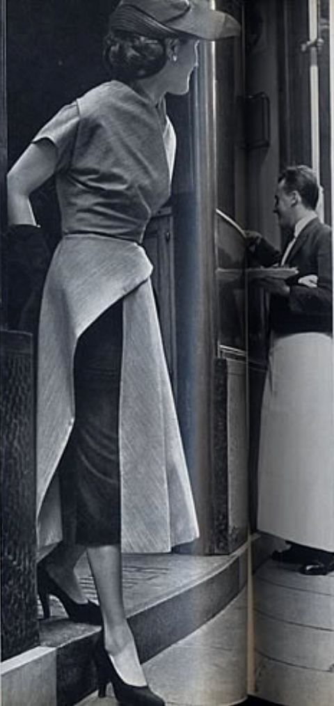 1951 Le Jardin des Modes, Gres
