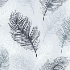 Arthouse Whisper Black/White Wallpaper