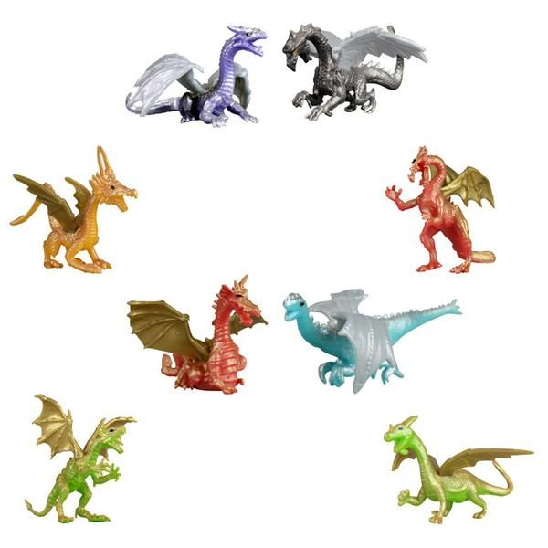 Dragon Figurines - This collection of fantasy-inspired, classically styled dragon figurines are sure to catch your eye. These mythical creatures come in 6 di...