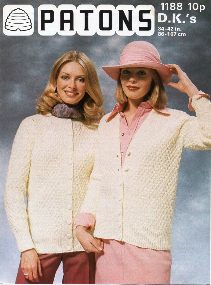 a4e5b110d47a womens cardigan knitting pattern pdf download vintage ladies textured jacket  v or round neck 34-42