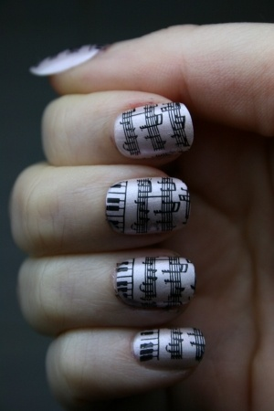 The 25 best piano nails ideas on pinterest music nail art music nails piano nailsmusic nail artmusic prinsesfo Images