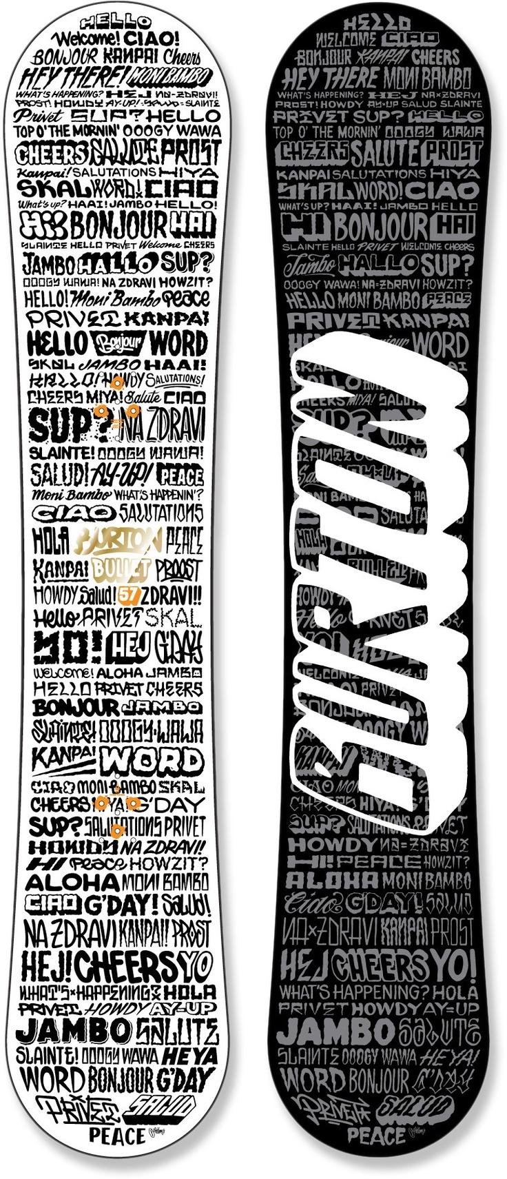 Burton Bullet Snowboard - Wide - 2011/2012 at REI.com