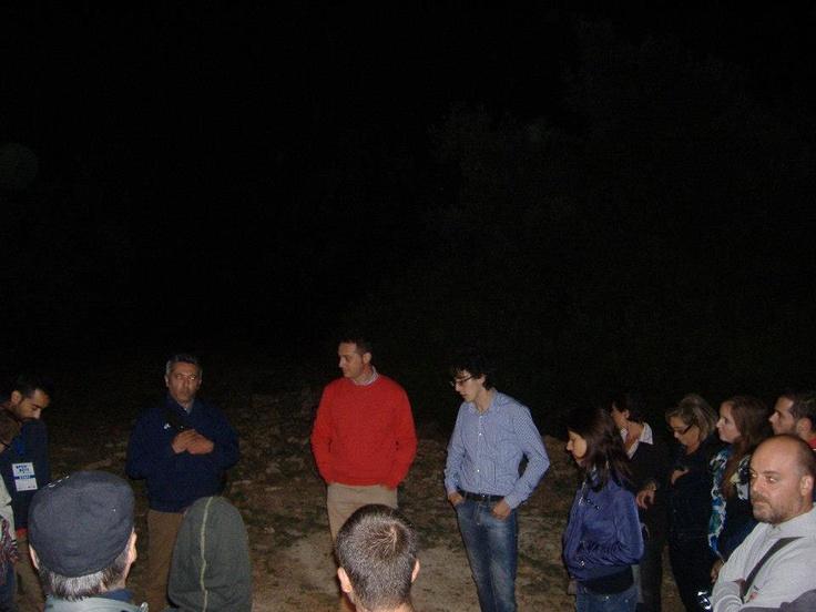 Visita guidata all'interno del Bosco Cuturi dove si avrà la possibilità di ascoltare dal vivo i rapaci notturni conoscendone le principali caratteristiche.