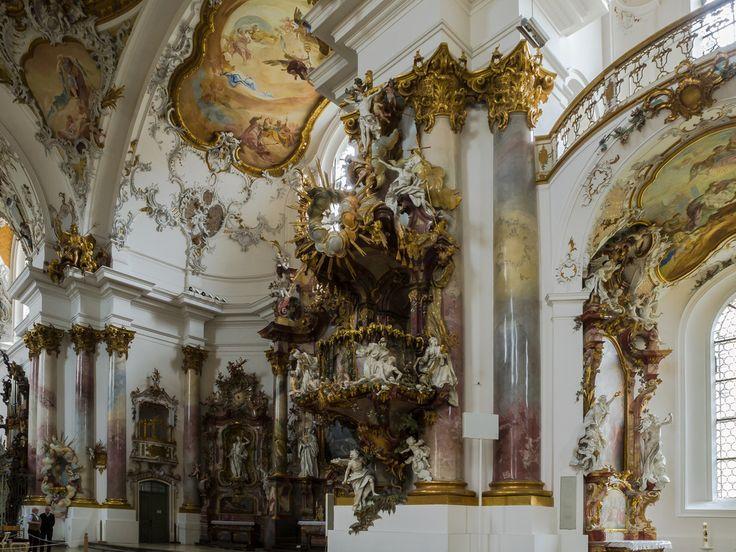 Die Kanzel, der Arbeitsplatz des Pfarrers von Friedrich Jäck