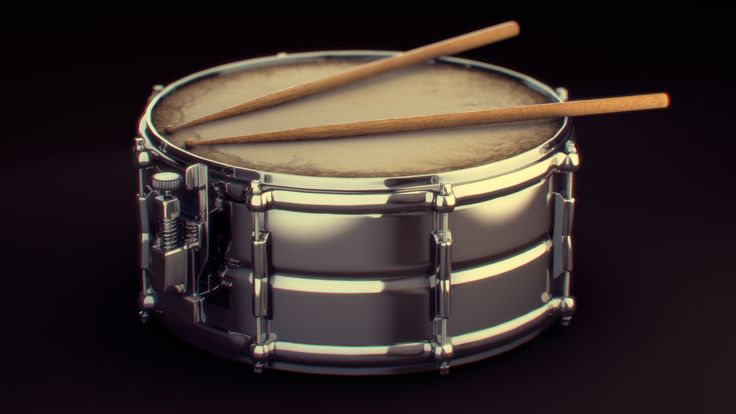 3D  Snare Drum