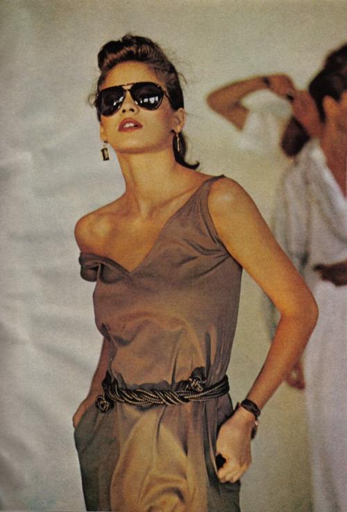 Gia Carangi 1980s Runway
