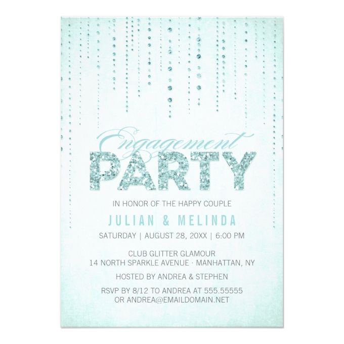 2628 best Engagement Party Invitations images on Pinterest - how to word engagement party invitations