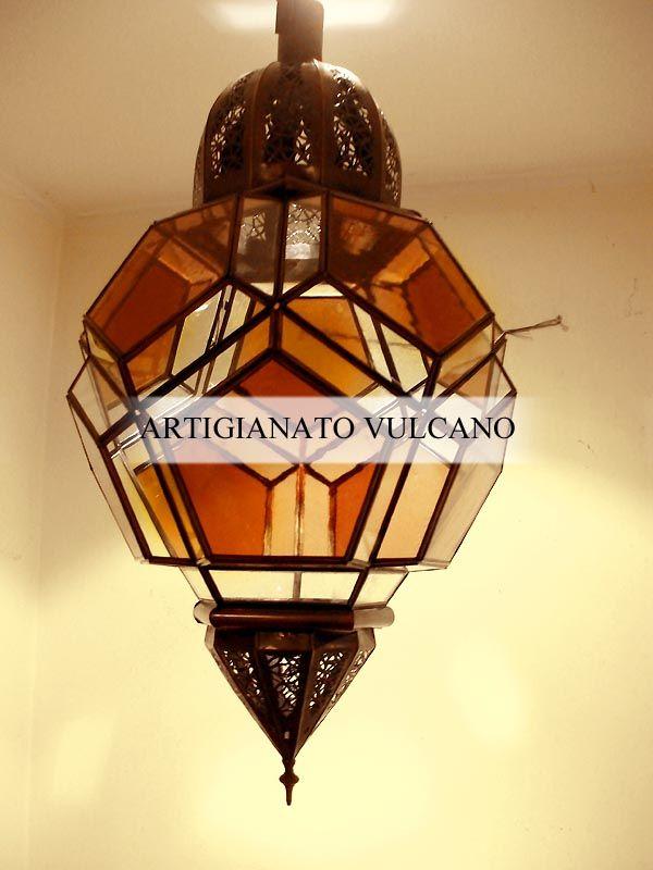 illustrazione delle piu' belle realizzazioni di lanterne e lampadari prodotti artigianalmente in marocco
