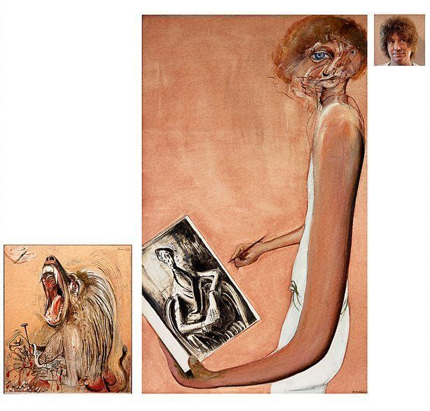 Brett Whiteley: Art, life and the other thing :: Archibald Prize 1978 :: Art Gallery NSW