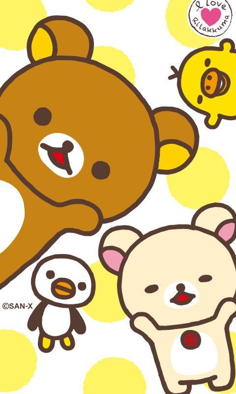 Rilakkuma and Friends, Sumikko Gurashi Desktop Wallpaper 1080x1920 ...