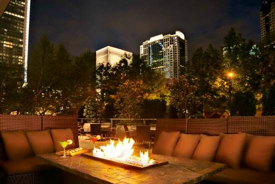 The Westin Charlotte - Outdoor Terrace I so want to stay here when I eventually go to Charlotte, NC
