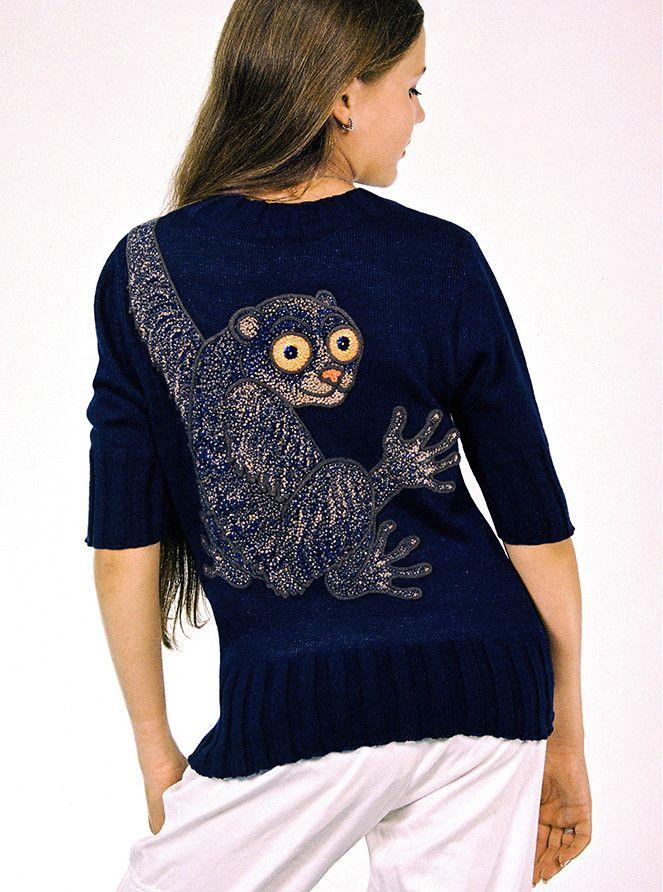 Alexander Seraphim's knitwear, 2003