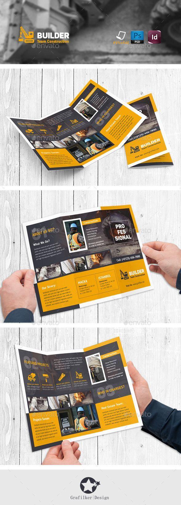 professional tri fold brochure templates