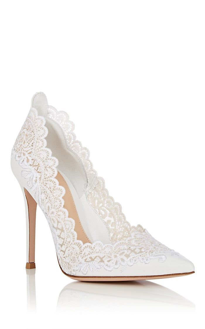 lace pump shoes