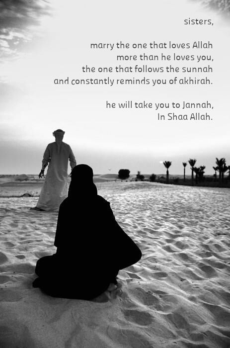 love for the sake of Allah is love that will last forever - till Jannah and beyond (if there's any, that is)