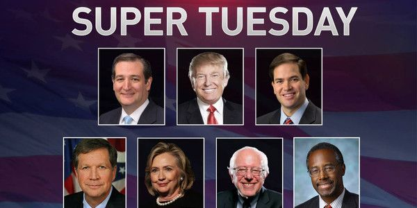 Super Tuesday Final Election Results