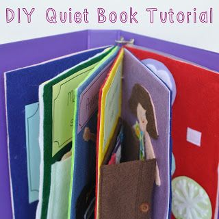Sew Lah Tea Dough: A Book for You, to Play and To Do!  DIY Quiet Book Tutorial