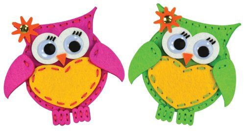 Kids' Sewing Kits - American Girl Crafts Sew and Share Kit Owls * Find out more about the great product at the image link.