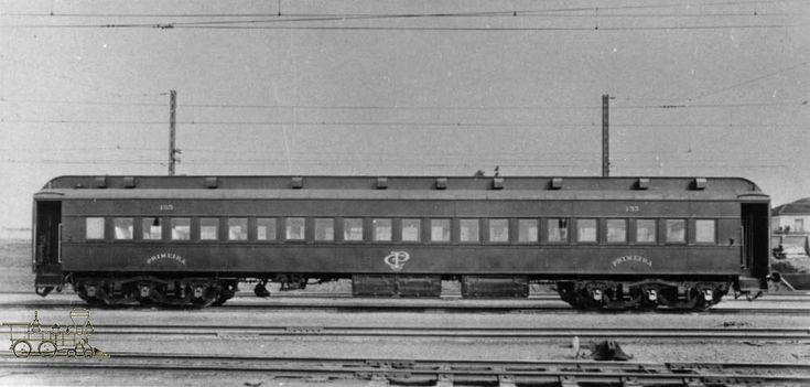 Vagão de Primeira Classe do Trem de Aço da Companhia Paulista de Estradas de Ferro