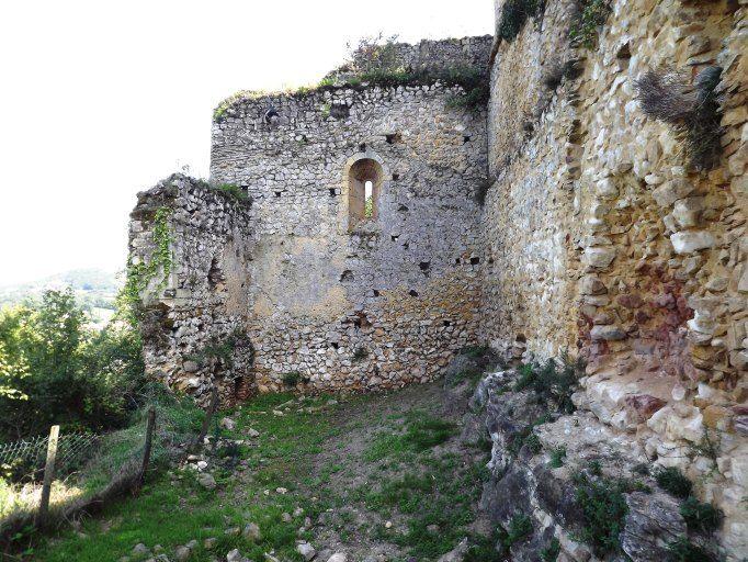 château comtal - Aurignac - Haute-Garonne. Midi-Pyrénées